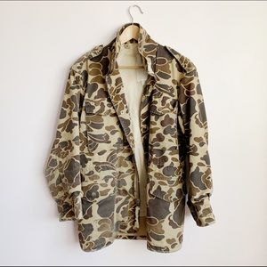 "vintage us army NATO m65 ""duck hunter"" camo jacket"